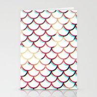 koi fish Stationery Cards featuring Koi Fish by JoanaRosaC