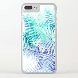 Wild Fern Jungle Clear iPhone Case