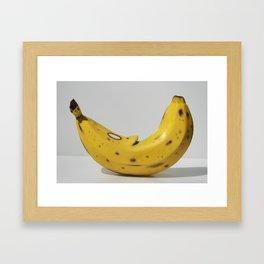 Middle Aged Banana Framed Art Print