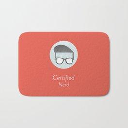 Certified Nerd Bath Mat