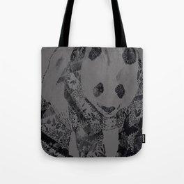Tattooed Panda Threadless+GAP Winner :{D Tote Bag
