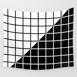 VAPOR-WAVE (BLACK-WHITE) Wall Tapestry