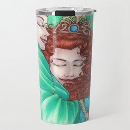Merida and Elinor (version 2) Travel Mug