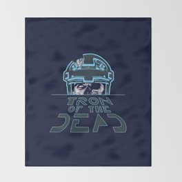 Tron Of The Dead Throw Blanket