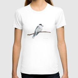 Gray Jay by Teresa Thompson T-shirt