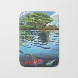 Shimmering Lake Bath Mat