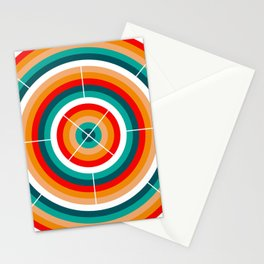 Circular motions Stationery Cards