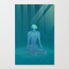 Recharging Canvas Print