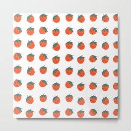 Tomatoes illustration Metal Print