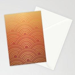 Sunset Mandala Stationery Cards