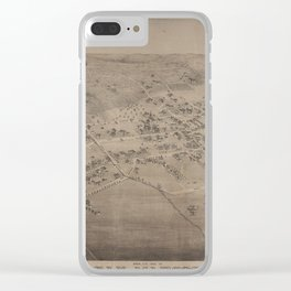 San Marcos 1881 Clear iPhone Case