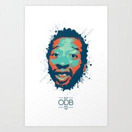 ODB Tribute Art Print