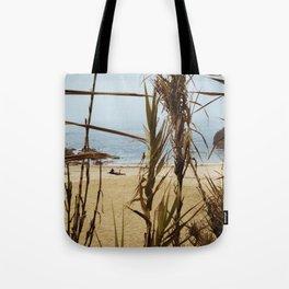The Lure of a Tan Tote Bag