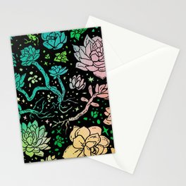Succulent Supercluster Stationery Cards