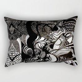 boiling water into air (detail) Rectangular Pillow