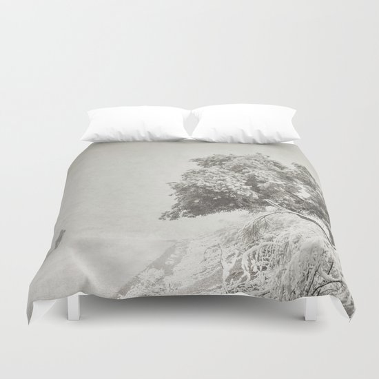 """Wandering into the fog"" Duvet Cover"