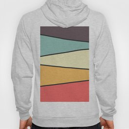 Abstract Graphic Design Pastel Hoody