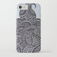 doodle iPhone & iPod Cases featuring Doodle by Meher R