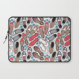 Shoe lover tattoos Laptop Sleeve