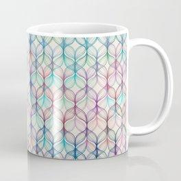Mermaid's Braids - a colored pencil pattern Coffee Mug