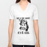 dr seuss V-neck T-shirts featuring Not a Dr. Seuss by Domonique Brown