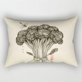 Mr. Broccoli Rectangular Pillow