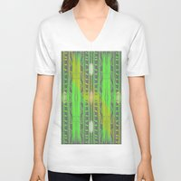 astronomy V-neck T-shirts featuring ASTRONOMY by Mohini Hewa
