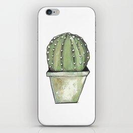 Cactus cirkel iPhone Skin