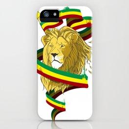 Reague Lion iPhone Case