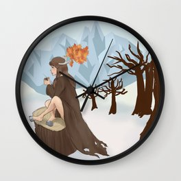 Caribou Coffee  Wall Clock