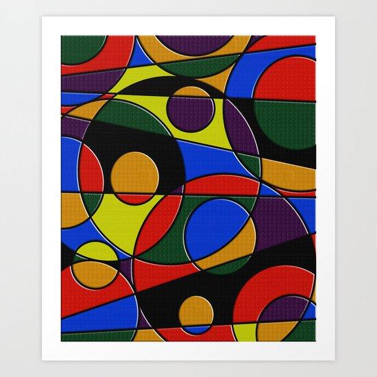 Abstract #223 Art Print