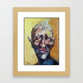 20minutes Portrait#1 Framed Art Print