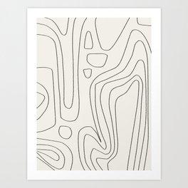 A little bit more. Art Print