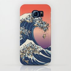 The Great Wave of Pug Galaxy S6 Slim Case