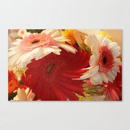 Twirly bouquet Canvas Print