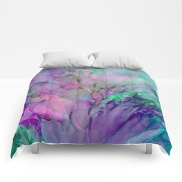 ALCOHOL INK Cvb Comforters