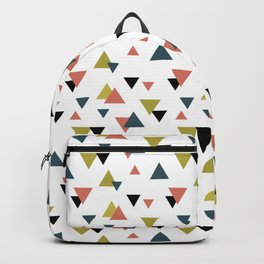 Triangle colorful pattern Backpack