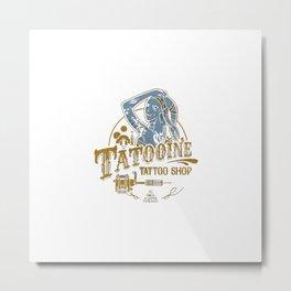 Tatooine Tattoo Metal Print