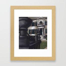 The Burrows' Estate Framed Art Print