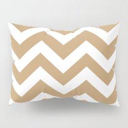 Fallow - brown - Zigzag Chevron Pattern Pillow Sham