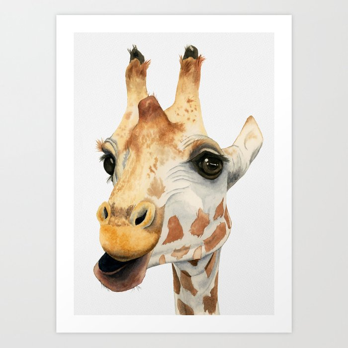 Chew Art Print
