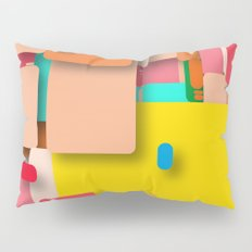 rounded rectangles Pillow Sham