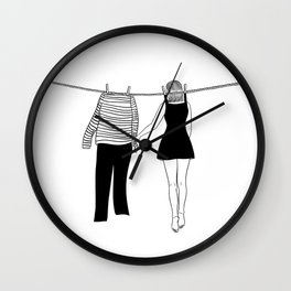 Don't leave me high Don't leave me dry Wall Clock