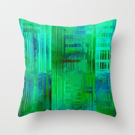 SchematicPrismatic 04 Throw Pillow