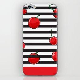 Cherry season iPhone Skin