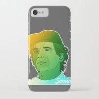 senna iPhone & iPod Cases featuring Ayrton Senna by Matty723