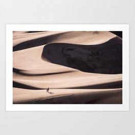 desert dune 2  Art Print