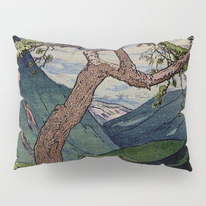 The Downwards Climbing Pillow Sham