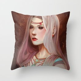 Bloodpearls Throw Pillow