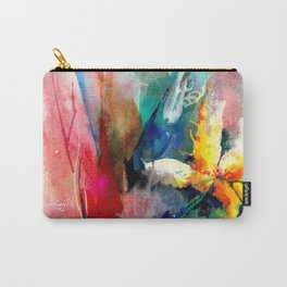 Yellow Flower by Kathy Morton Stanion Carry-All Pouch